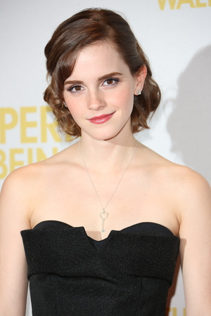 Emma Watson Gala Screening of 'The Perks of Being A Wallflower' held at the May Fair Hotel - Inside Arrivals. London