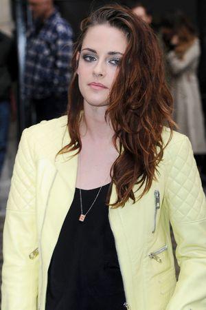 Kristen Stewart, Balenciaga show, Spring Summer 2013, Paris Fashion Week, France - 27 Sep 2012