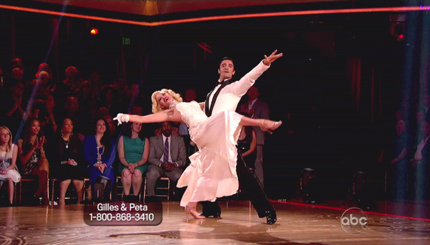 Dancing With The Stars S15E01: Peta Murgatroyd and Gilles Marini
