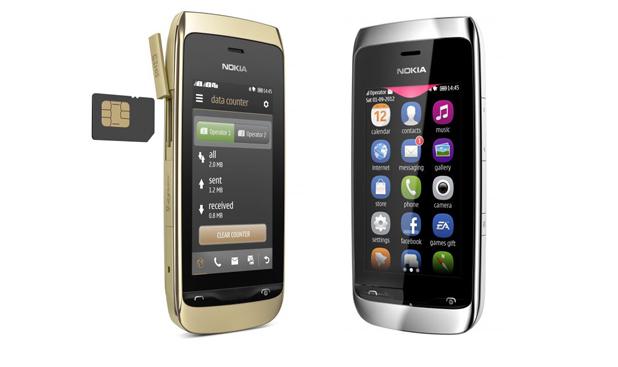 Nokia Asha 308 and 309