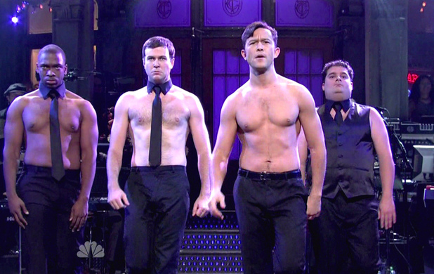 Joseph Gordon-Levitt hosts NBC's 'Saturday Night Live' Season 38 Episode 2 USA - 22.09.12