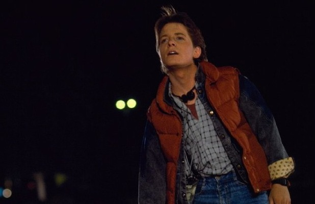 Michael J Fox, Back to The Future, 1985