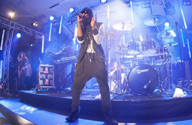Wretch 32 performs as part of Guinness celebrations for Arthur's Day