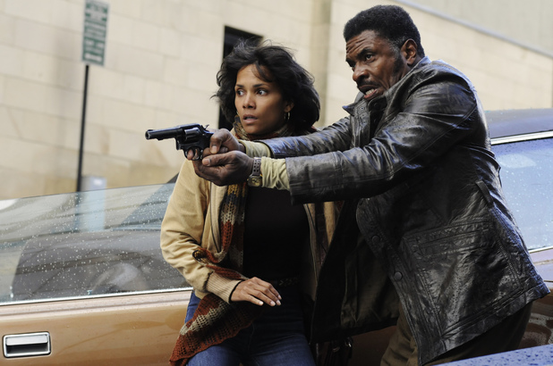 Halle Berry and Keith David