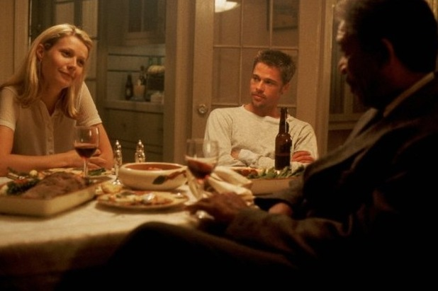 Gwyneth Paltrow, Brad Pitt, Morgan Freeman
