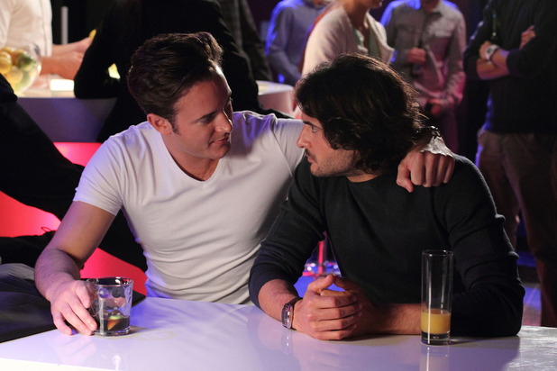 Danny and Syed in EastEnders