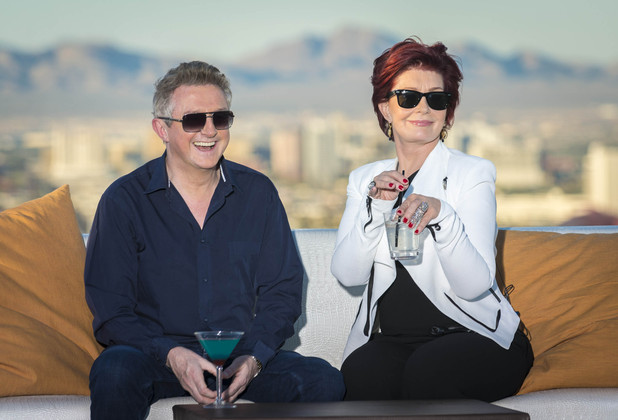 The X Factor 2012 - Judges houses 1: Louis Walsh and Sharon Osbourne