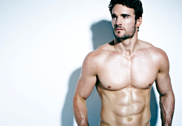 Thom Evans in the November issue of Men's Health.