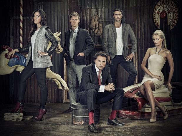 Made in Chelsea: Sophia, Stevie, Andy, Sam, Ianthe