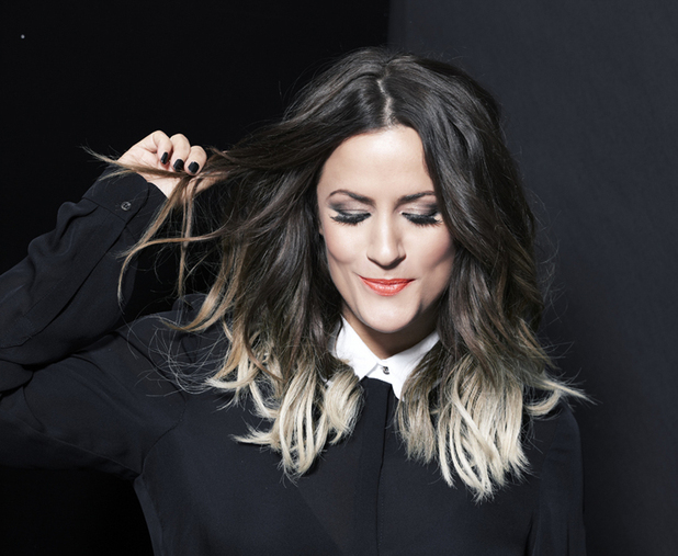 Caroline Flack new face of Regis salons publicity shot