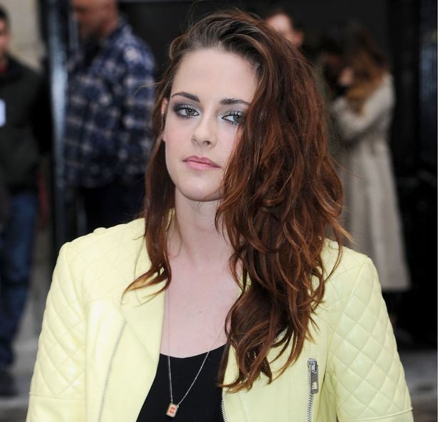 Kristen Stewart, Balenciaga show, Spring Summer 2013, Paris Fashion Week, France - 27 Sep 2012