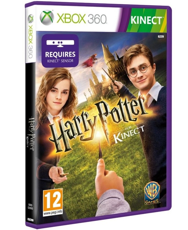 Harry Potter for Kinect packshot