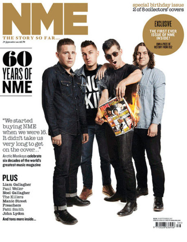 NME 60 years of NME edition cover