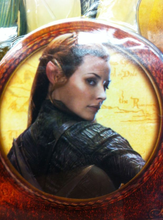 Evangeline Lilly as Tauriel in 'The Hobbit'