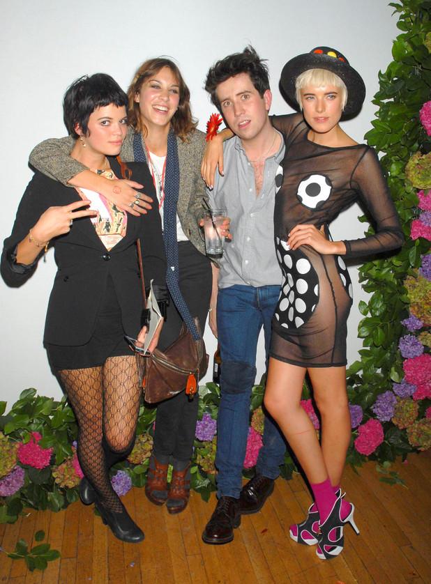 Pixie Geldof, Alexa Chung, Nick Grimshaw, Agyness Deyn