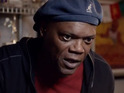 Samuel L Jackson warns of the dangers of electing Republican Mitt Romney.