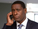 David Harewood hints on Twitter that he turned down an offer to compete.