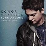 Conor Maynard ft. Ne-Yo 'Turn Around' artwork.