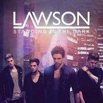 Lawson 'Standing In The Dark' artwork.