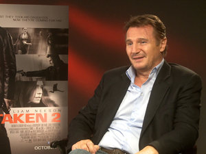 Liam Neeson Taken 2 interview