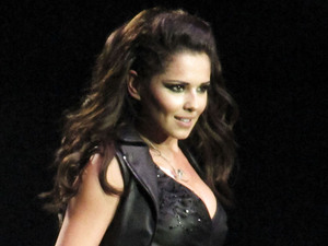 Cheryl Cole performing live in concert at the Odyssey Arena Belfast, Northern Ireland - 03.10.12