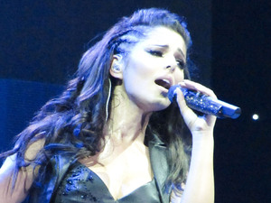 Cheryl Cole performing live in concert at the Odyssey Arena Belfast, Northern Ireland