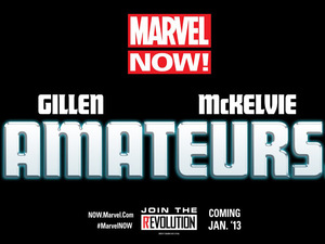 Marvel NOW! Amateurs teaser