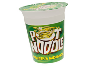Chicken & Mushroom pot noodle
