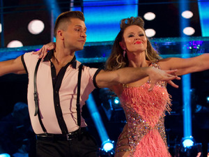 Strictly Come Dancing: Show 2: Kimberley Walsh and Pasha Kovalev