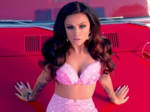 Cher Lloyd in &#39;Oath&#39; music video.