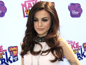 Cher Lloyd arrives at Make Your Mark: Shake It Up Dance Off 2012 at the LA Center Studios.