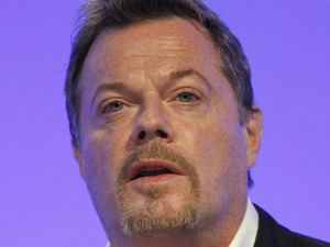 Eddie Izzard at the 2012 Labour Party Conference in Manchester