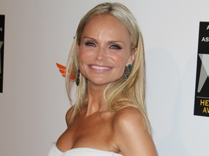 Kristin Chenoweth arrives at the 2012 Hero Dog Awards in Los Angeles.