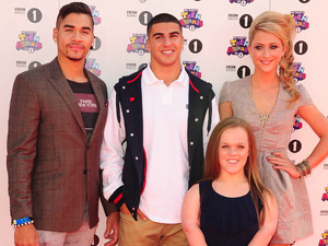 BBC Radio 1&#39;s Teen Awards: Louis Smith, Adam Gemili, Ellie Simmonds and Laura Trott 