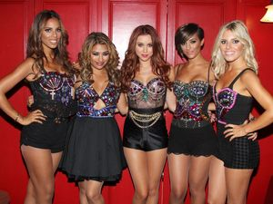 The Saturdays in concert at Club Tigerheat, Los Angeles.