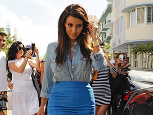 miss mode: Kim Kardashian