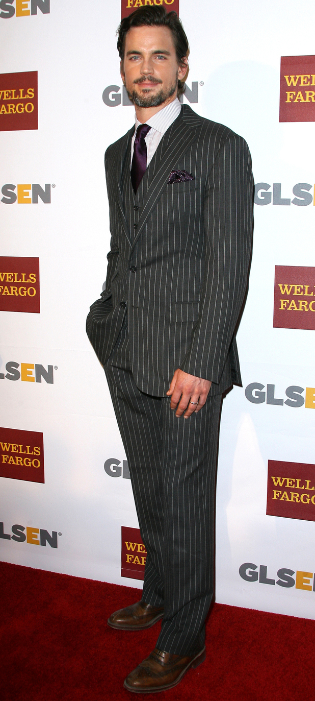 Matt Bomer attends the 8th Annual GLSEN Respect Awards held at the Beverly Hills Hotel.