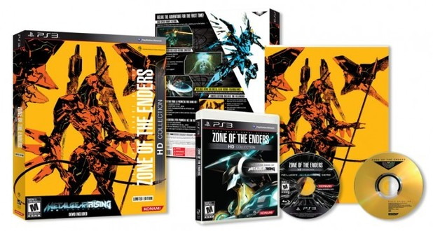'Zone of the Enders' Limited Edition bundle