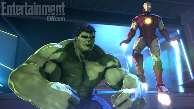 &#39;Iron Man & Hulk: Heroes United&#39; animation still