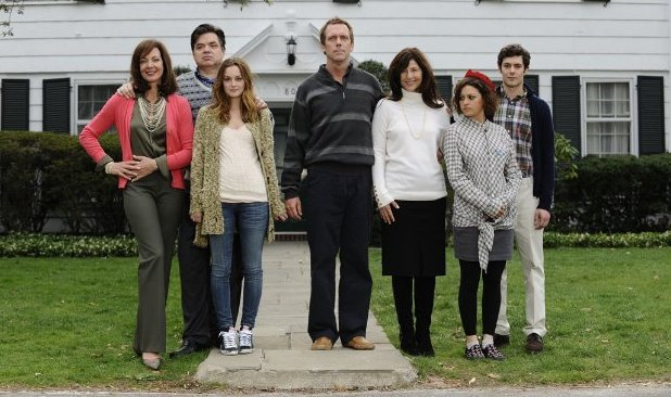 the cast of 'The Oranges' (2011)