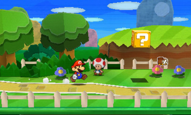'Paper Mario: Sticker Star' screenshot