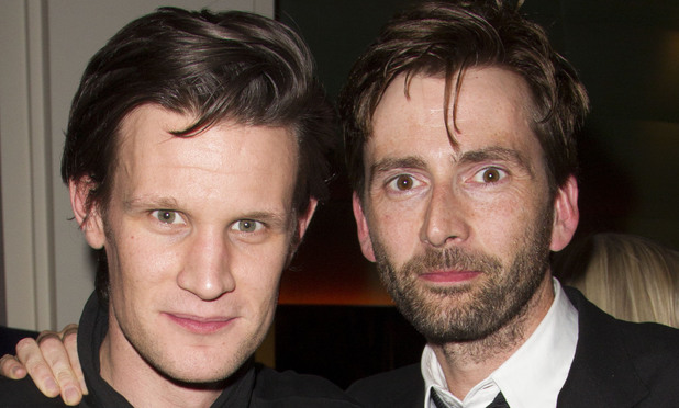 Matt Smith, 'Our Boys' play press night after party, David Tennant