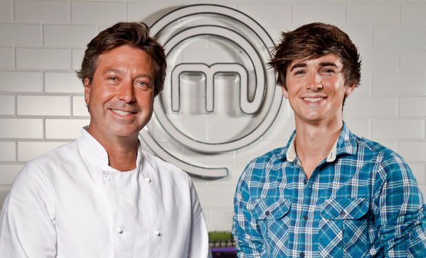 Junior Masterchef Presenters John Torode and Donal Skehan
