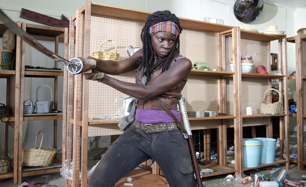 Danai Gurira as Michonne in 'The Walking Dead'