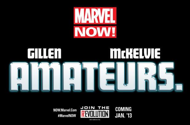 Marvel NOW! Amateurs teaser