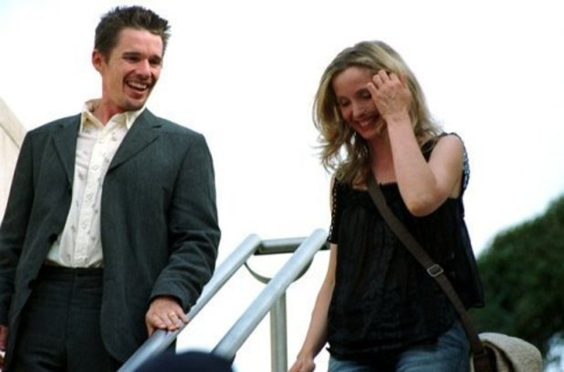 Ethan Hawke, Julie Delpy in 'Before Sunset' (2004)