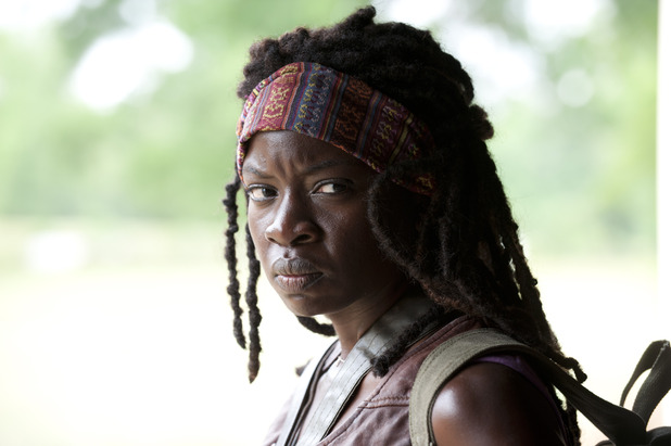 Danai Gurira as Michonne in &#39;The Walking Dead&#39;