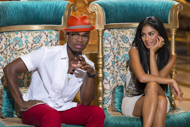 Nicole Scherzinger and Ne-Yo at Judge's Houses, The X Factor