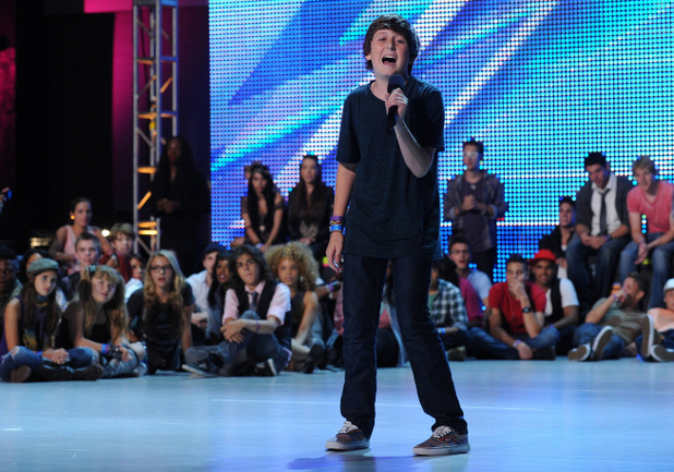 The X Factor USA Season 2 Boot camp episode 1: Trevor Moran