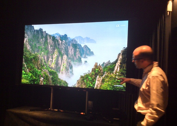 Sony's 84-inch 4K TV
